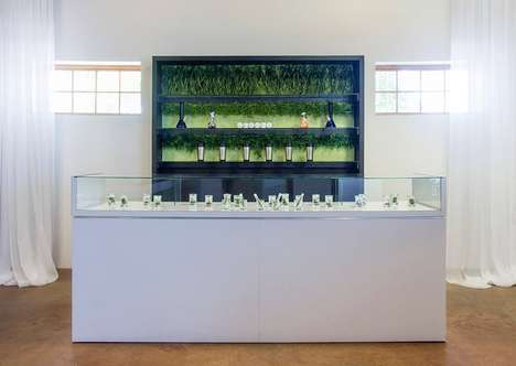 Elegant Cannabis Dispensaries - This Albuquerque Dispensary Puts a New Spin on Pot Branding