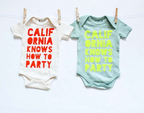 Rap-Themed Infant Apparel - Etsy's Earth Cadets Shop Features Sustainable Baby Fashion