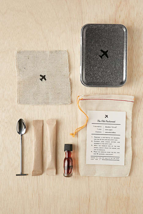 Carry-On Cocktail Kits - This Airline Mixology Kit Makes Custom Drinks While On the Go
