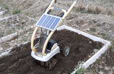 Solar-Powered Garden Tillers - This DIY Backyard Tiller Reduces Noise and Energy Consumption