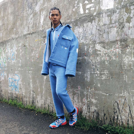 Cozy Streetwear Collections - The Latest HARTONO Lookbook Highlights Urban Menswear Styles