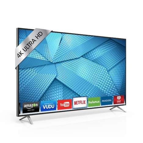 Ultra HD Televisions - The Vizio M-Series Pushes to Brings Supreme Quality to Mainstream TV Watchers
