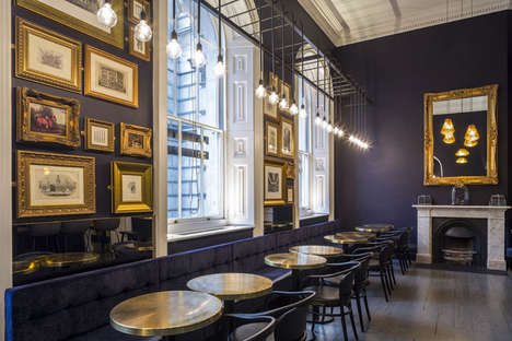 Cultural Institution Cafes - Pennethorne's Cafe and Bar is the Latest Eatery at Somerset House