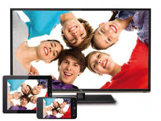 Interconnected Smart TVs - The TCL Smart TV 2 Connects With Smartphones, Tablets and Cameras