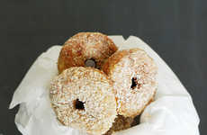 Sugar-Free Cinnamon Donuts - This Donut Recipe is a Low Carb Option That Satisfies Cravings