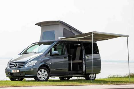 Luxury Camper Vans - The Horizon Mercedes Multi Concept Lets You Camp In Style
