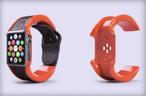 Smartwatch Battery Bands - The wipowerband Proposes to Extend the Apple Watch Battery Life