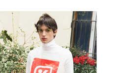 Eccentric Androgyny Portraits - The Rue Simon Le Franc Editorial Boasts Artistic Menswear Staples