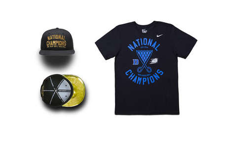 Glory-Celebrating Apparel - This Nike Apparel Commemmorates Duke University's NCAA Conquest