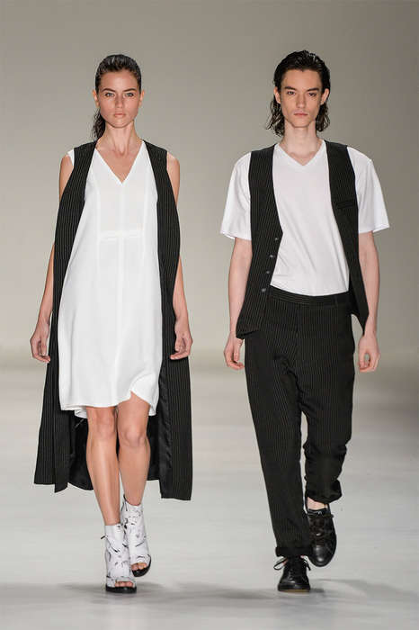 Urban Couple Catwalks - UWA's Latest Collection Features Hipster Couple Fashions
