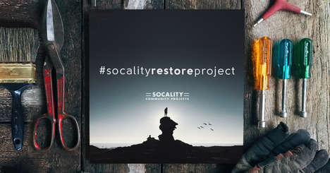 Restorative Community Projects - Socality's Community Initiative for April Focuses on Restoration