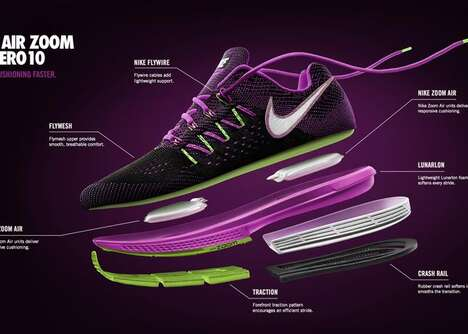 Plush Running Shoes - The Nike Air Zoom Vomero Keeps Your Feet Happy On the Run