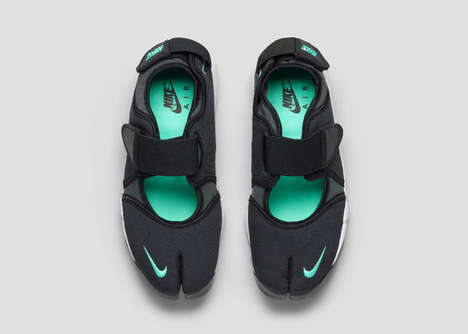 Split-Toe Running Shoes - The Nike Air Rift is Inspired By Kenyan Runners' Barefoot Style