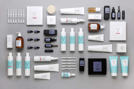 Portable Shampoo Packaging - These Hair Product Packaging Designs are Chic and Luggage-Inspired
