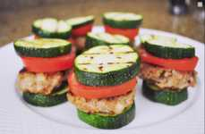 Paleo Turkey Sliders - Happy Chomp Creates a Healthy Diet Involving Fresh Zucchini Buns