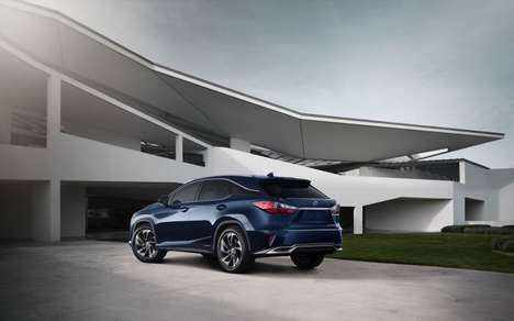 Redesigned Luxury SUVs - The New Lexus RX SUV is a Reworked Version of the Original Bestseller