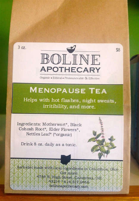 Organic Menopause Teas - Etsy's Boline Apothecary Offers All Natural Products for Aging Women