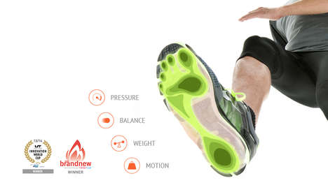 Foot Therapy Insoles - Moticon's OpenGo Sensor System Monitors Physio Patients