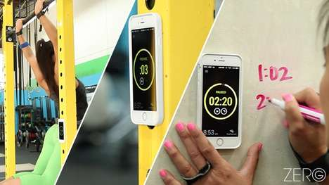 Anti-Gravity Phone Cases - Zero G Turns iPhones into Hands Free Devices