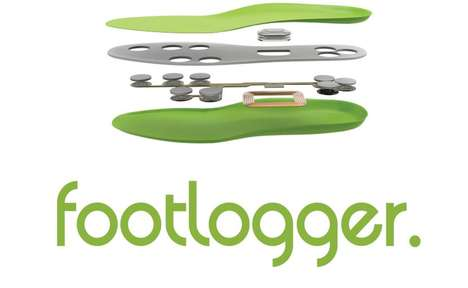Smart Ergonomic Insoles - The FootLogger Smart Insoles Feature Eight Pressure Sensors