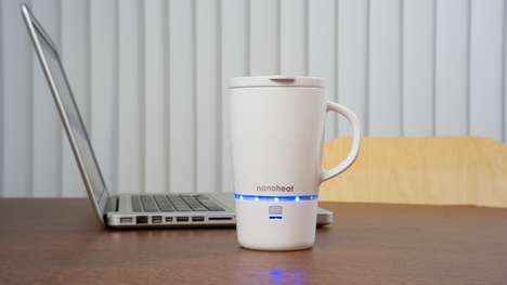 Heated Smart Mugs - This Wireless Heated Mug Employs Nanotechnology to Stay Warm