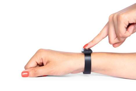 Biometric Banking Wristbands - This Wearable Payment Device Uses Your Pulse for Authentification