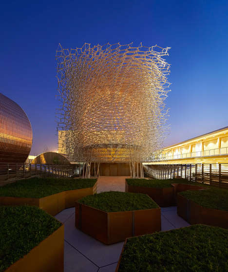 Dizzying Design Pavilions - Artist Wolfgang Buttress Designed the UK Pavilion at the World Expo 2015