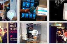 Free Vending Machines - Innovative Vending Solutions Encourages People to Tweet for Snacks