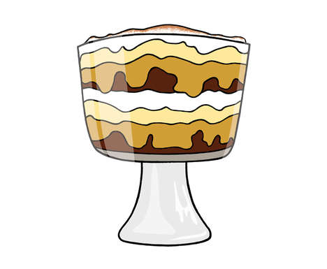 Tweaked Trifle Desserts - Serve Cake Over Steak's Brownie Tiramisu Trifle Recipe at Daytime Events