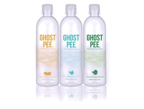 Organically Flavored Water - Made Entirely in Canada, Ghost Pee Focuses on Health and Diversity
