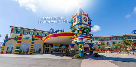 Toy-Themed Accommodations - The LEGOLAND Hotel Winter Haven is Perfect for Family Getaways