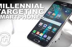 Millennial-Targeting Smartphones - Mark Childs Dicusses the Features of the New Samsung Smartphones