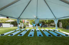 Rejuvenating Festival Cabanas - Hawaiian Tropic's Outdoor Cabana Offers Refreshment at Coachella