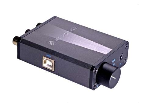 Audiophile Headphone Amplifiers - The NuPrime is a High-Resolution Digital-to-Analog Converter