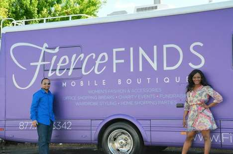 Mobile Womenswear Boutiques - Fierce Finds Applies the Food Truck Model to Women's Clothing