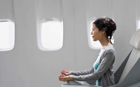 In-Flight Meditation Programs - British Airways Aims to Mindfully Improve Passenger Well-Being