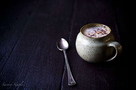 Spicy Chocolate Lattes - Savory Simple's Coffee Recipe is Made With a Kick of Flavor