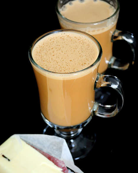 Frothy Butter Coffees - This Butter Coffee is Based On a Centuries-Old Recipe