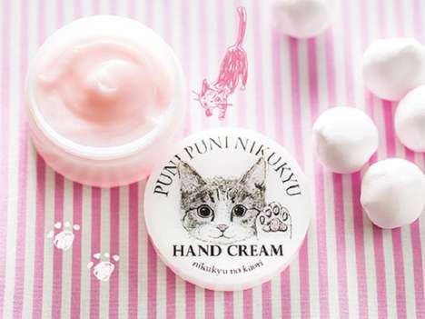 Cat-Scented Lotion - Felissimo's Fragrant Hand Cream for Humans Smells Like a Cat's Paw