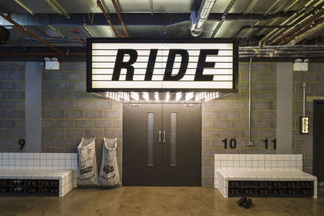Contemporary Boutique Gyms - 1Rebel in London is a Former Office Turned Theatrical Luxury Gym