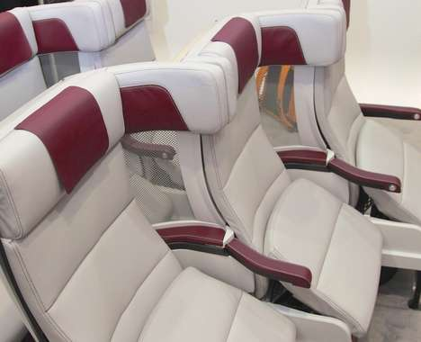 Staggered Airplane Seating