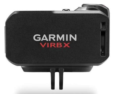 Data-Displaying Action Cameras