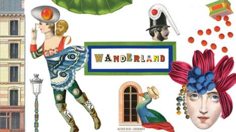 Artistic Fashion Exhibits - The Hermes Wanderland Exhibit Will Be Held at London's Saatchi Gallery