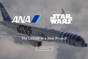 The Star Wars X All Nippon Airways R2-d2 Plane is a Five-Year Project