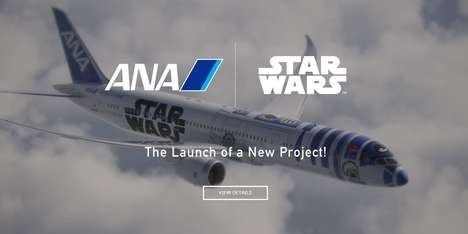 Epic Sci-Fi Jetliners - The Star Wars X All Nippon Airways R2-d2 Plane is a Five-Year Project