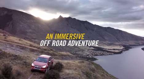 Off-Road Auto Simulations - Chevrolet's 'CoDriver' Virtually Takes You Through Rugged Terrain