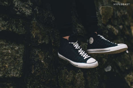 Braided Sneakers - The Converse All Star Mono Weave Collection Follows the Successful Color Weave
