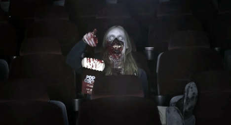 Cinematic Zombie Pranks - Grona Lund Promotes Its House of Nightmares with a Scary Prank