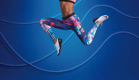 City Tour Sportswear - The Nike Tights of the Moment is Inspired by Los Angeles' Vibrant Urban Life