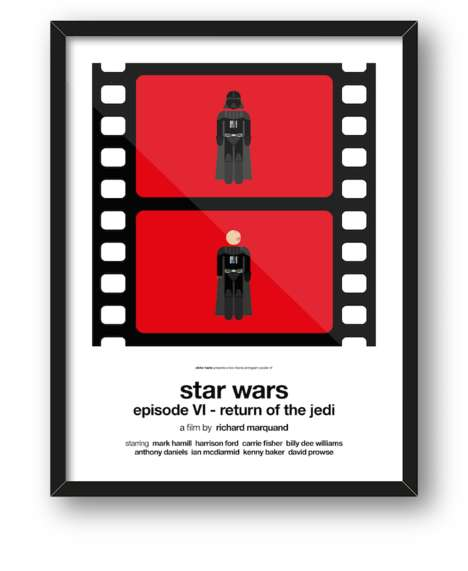 Pop Culture Pictograms - Viktor Hertz Returns with Detailed Versons of His Popular Movie Pictograms